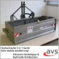 Mobile Preview: AVS Heckcontainer Heckschaufel 180cm Traktor Kippmulde hydraulisch
